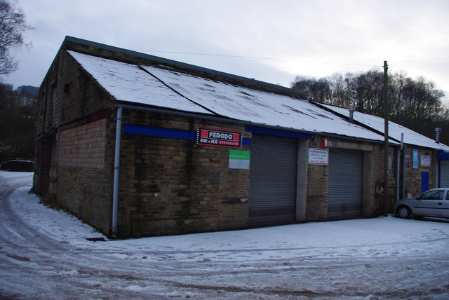 Calder Brook Garage, Holme End, Mytholmroyd