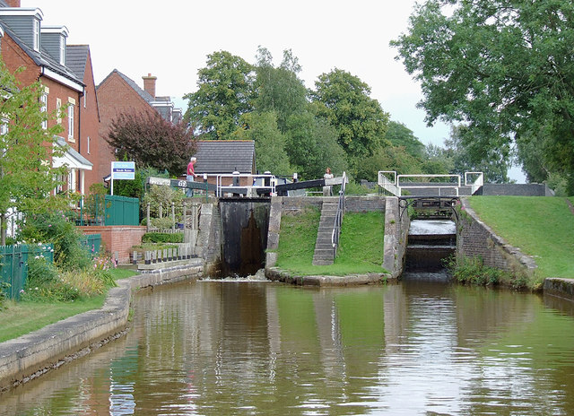 Wheelock Locks No 62 at Malkin's Bank, Cheshire