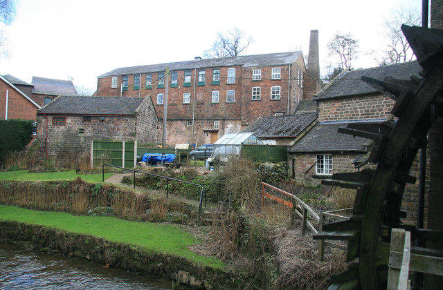 Mills at Cheddleton