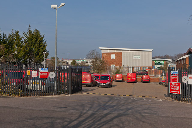 Royal Mail Winchester Delivery Office