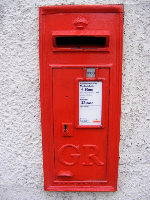 High Street George V Postbox