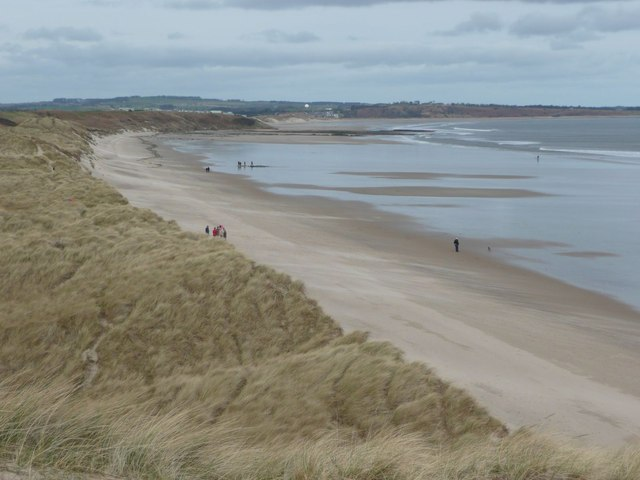 The beach east of Warkworth