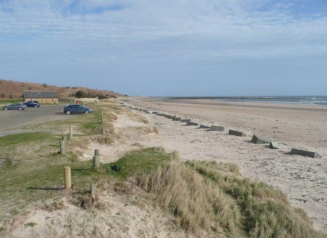 Alnmouth Beach Car Park