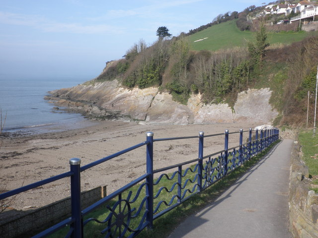 Path down to the beach, at Combe Martin