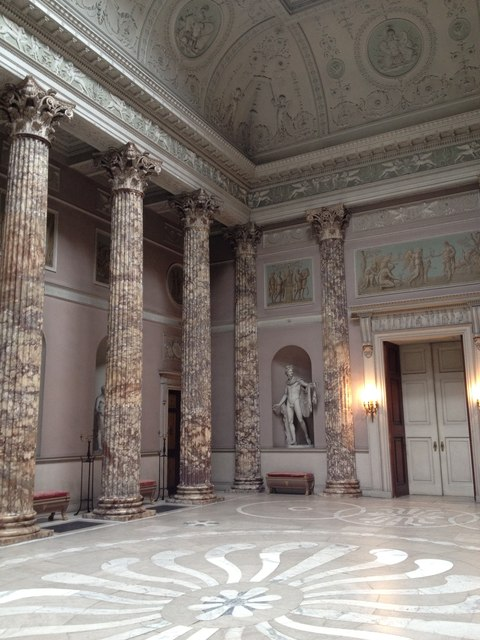 Inside the Marble Hall, Kedleston Hall