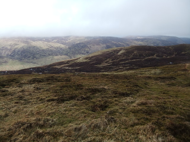 Northern slopes of Ben Chonzie