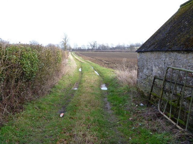 Track to the fields