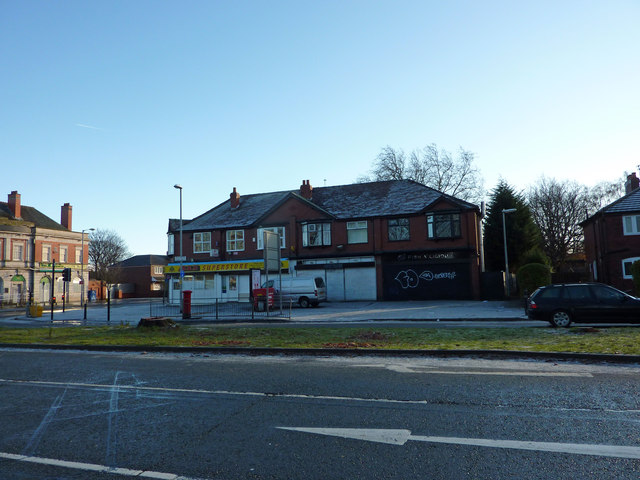 Shops on Mauldeth Road West, Chorlton