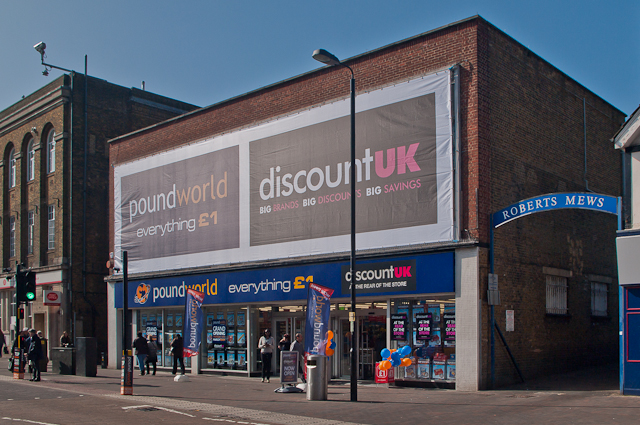 Poundworld/Discount UK