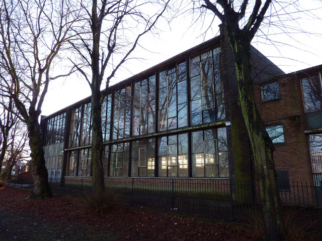 1950s extension at the former Chorlton Park Secondary School