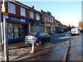 SJ8292 : Shops on Barlow Moor Road, Chorlton by Phil Champion