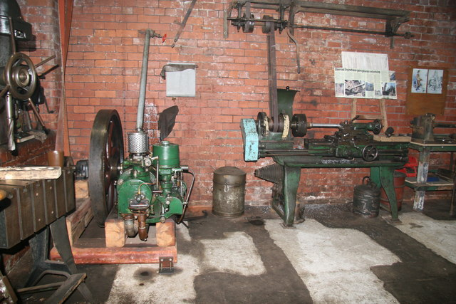Ellenroad Engine House - workshop
