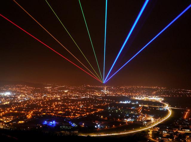 'Global Rainbow', Newtownards