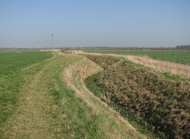 Drainage ditch near Rectory Farm