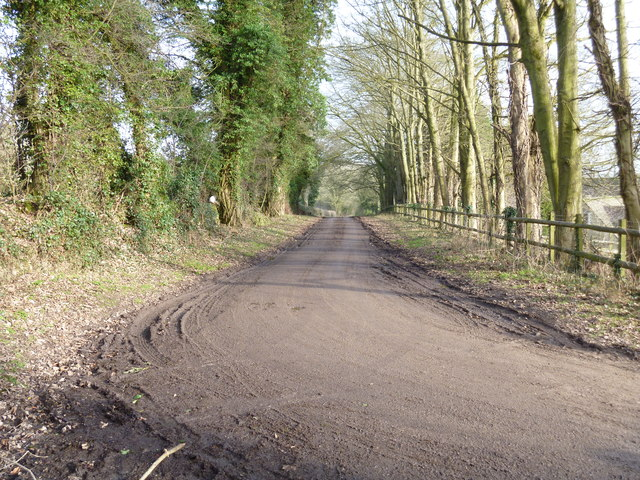 Road from Maugersbury [1]