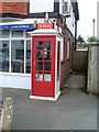 SZ6488 : Telephone Kiosk in Bembridge (1) by David Hillas