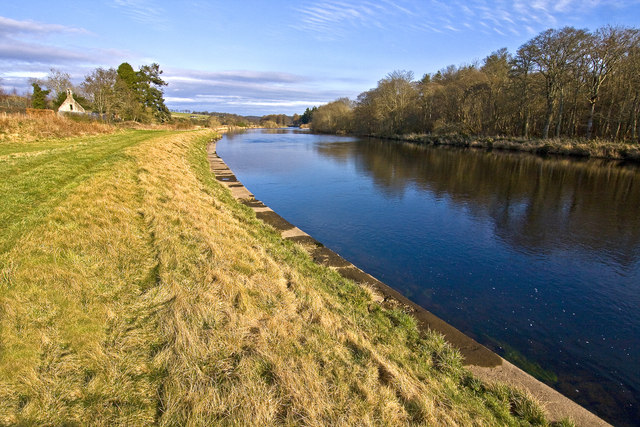 River Dee at Dalmaik