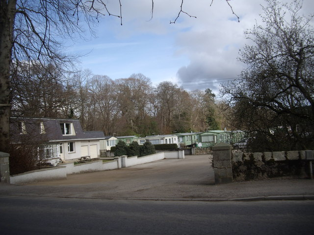 Banchory Lodge Caravan Park (March)
