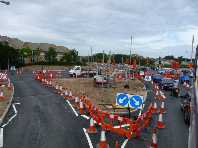 Weymouth - Roadworks