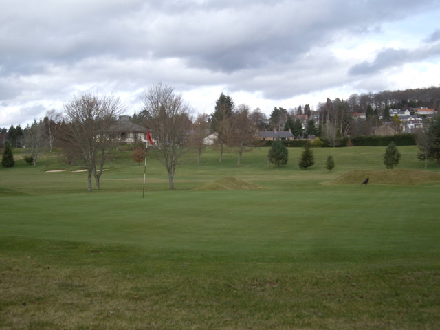 Thirteenth Green, Banchory Golf Club