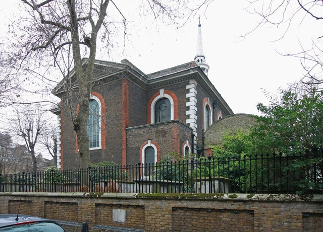 St Mary with All Saints, Rotherhithe