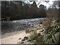 NO6995 : Mini-rapids on the River Dee at Banchory by Stanley Howe