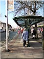 SJ9494 : 330 Bus stop by Gerald England