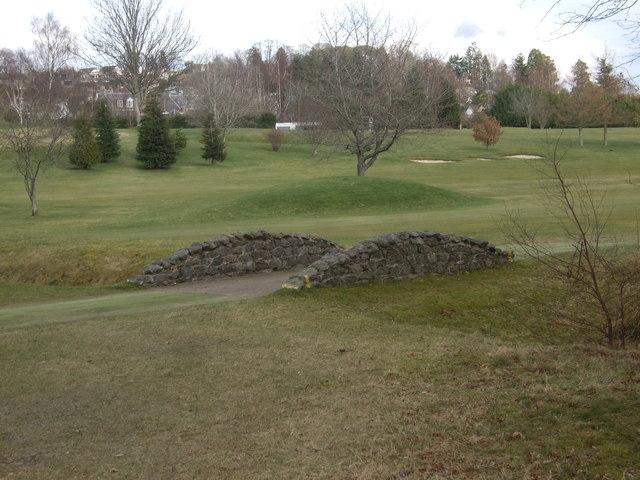 Golfer's footbridge