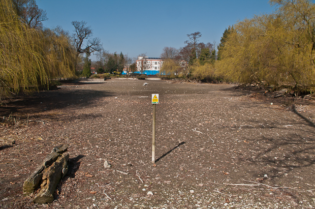 Dried up Priory Pond