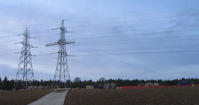 Reconductoring, on the Beauly-Blackhillock Line