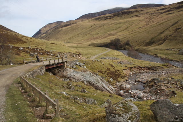 Bridge over Allt Craoinidh, Glen Tilt