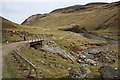 NN9072 : Bridge over Allt Craoinidh, Glen Tilt by Dorothy Carse