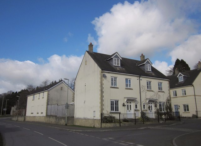 New housing by Brook Lane, Tavistock