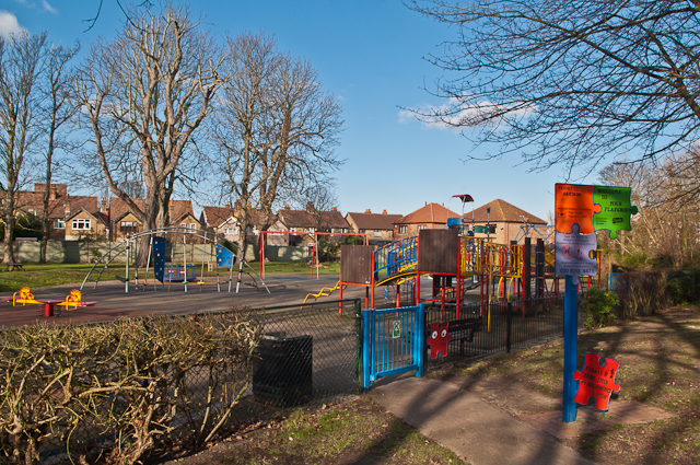 Playground, Priory Gardens