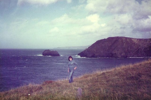 The coast at Tintagel, October 1983