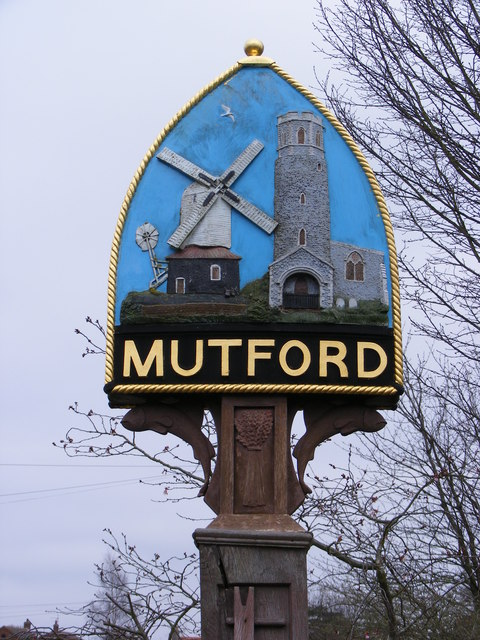 Mutford Village sign