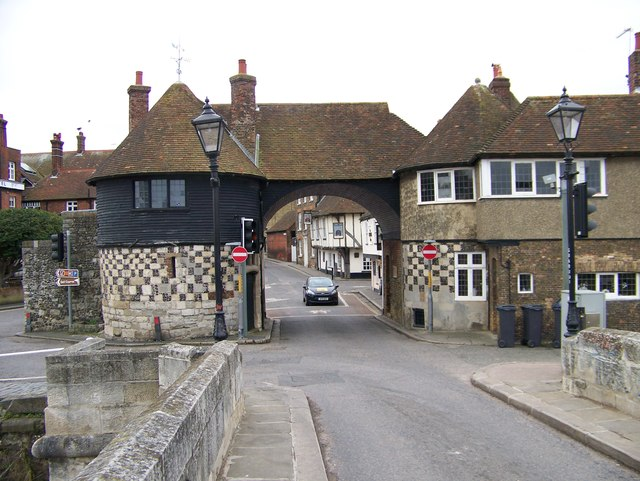 The Barbican Gate at Sandwich