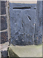 SJ8253 : Bench mark and bolt on St Martin's church by John S Turner