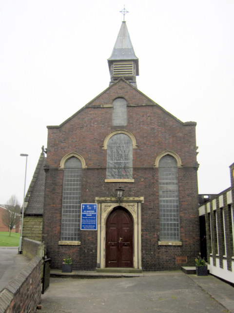 West end of St Martin's church