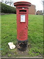 SJ8253 : A George VI postbox on Leak Road, Talke by John S Turner