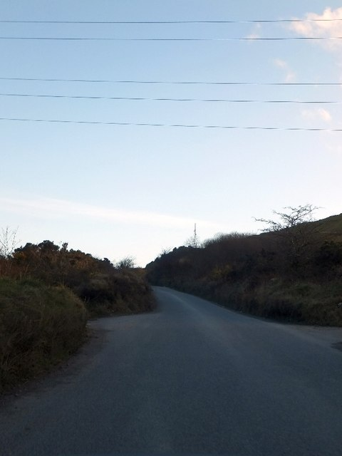 Road to Hensbarrow Downs