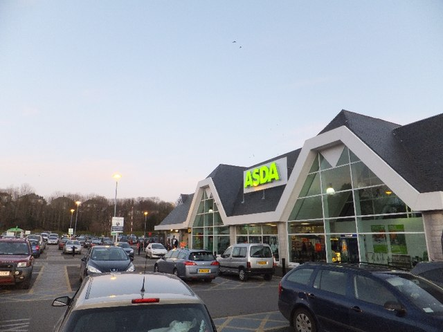 Asda superstore, St Austell © David Smith cc-by-sa/2.0