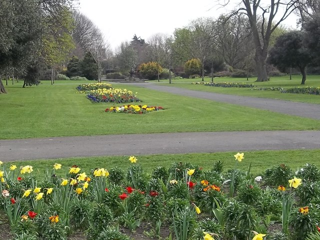 Early spring in Herbert Park