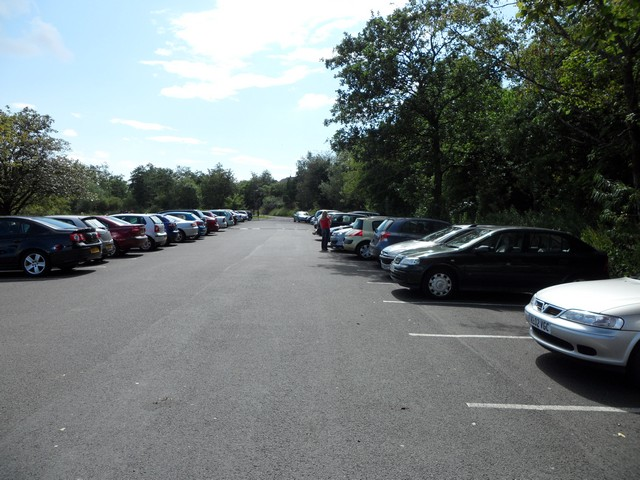 Car park at Castle Semple Country Park