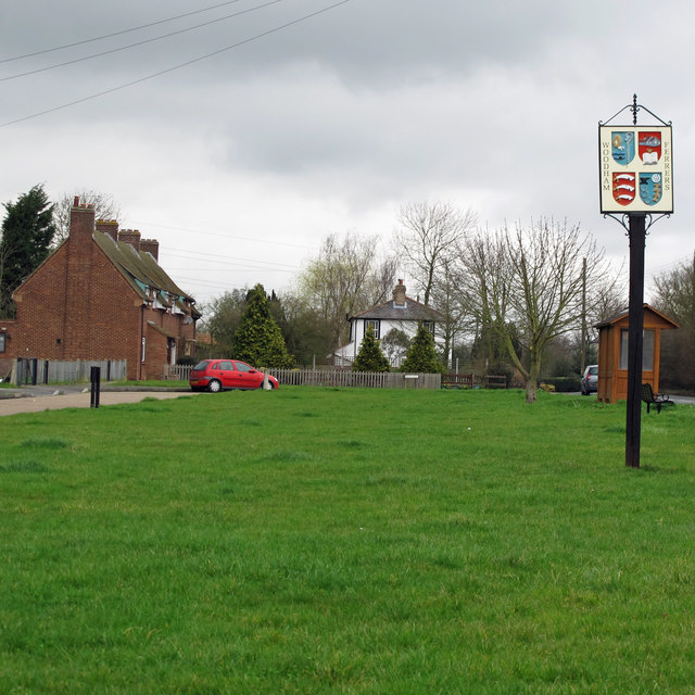 Woodham Ferrers Village Sign