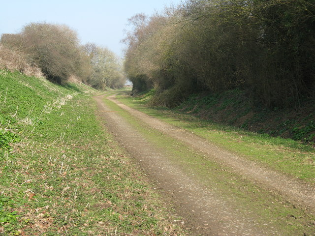 Permissive bridleway following the former Lewes to Uckfield railway