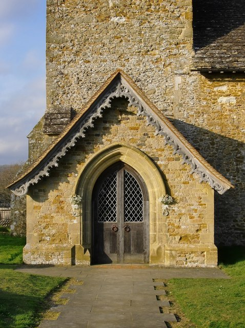 The porch, Church of St John the Evangelist, Wotton