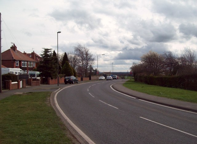 A616 Road in Clowne