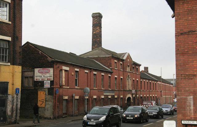 Pottery, King Street ,Longton.