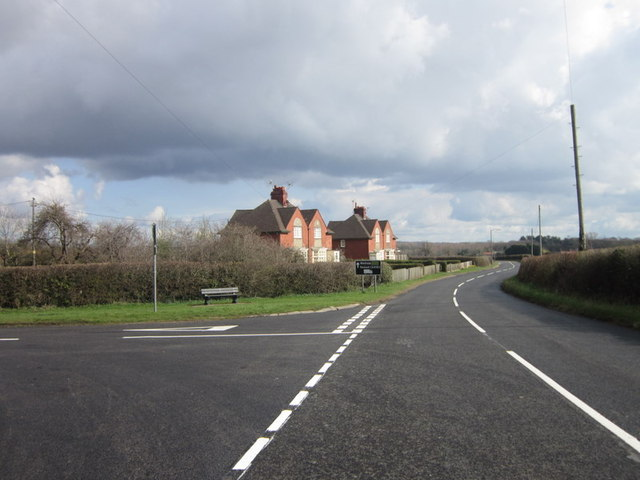 Station road at Green Lane